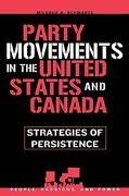 Party Movements in the United States and Canada 0 9780742539686 0742539687