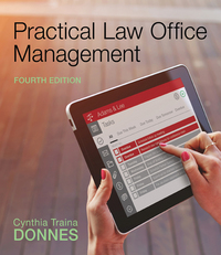 Practical Law Office Management 4th Edition 9781305577923 1305577922