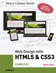 Web Design with HTML & CSS3 8th Edition 9781305578173 1305578171