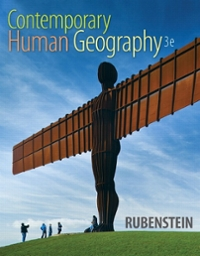 Contemporary Human Geography 3rd Edition 9780321999016 0321999010
