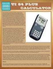 Ti-84 Plus Calculator 1st Edition 9781634289429 1634289420