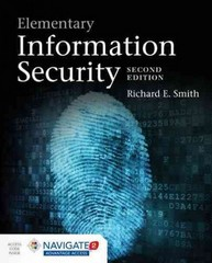Elementary Information Security 2nd Edition 9781284055931 1284055930