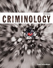 Criminology (Justice Series) 3rd Edition 9780133805628 013380562X
