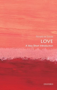 Love: A Very Short Introduction 1st Edition 9780199663842 019966384X