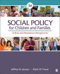 Social Policy for Children and Families 3rd Edition 9781483344553 148334455X