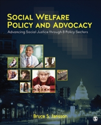 Social Welfare Policy and Advocacy 1st Edition 9781483377872 1483377873