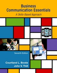 Business Communication Essentials 7th Edition 9780133896787 0133896781