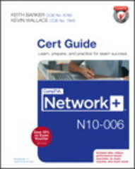 CompTIA Network+ N10-006 Cert Guide 1st Edition 9780789754080 0789754088