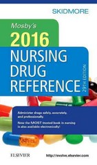 Mosby's 2016 Nursing Drug Reference 29th Edition 9780323370240 0323370241