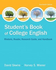 Student's Book of College English 14th Edition 9780321979636 032197963X