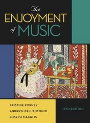 The Enjoyment of Music 12th Edition 9780393936377 0393936376