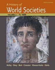 A History of World Societies 10th Edition 9781457659942 1457659948