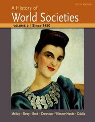 A History of World Societies 10th Edition 9781457659959 1457659956