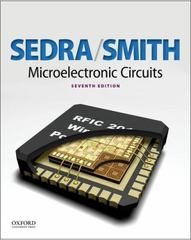 Microelectronic Circuits 7th Edition 9780199339235 0199339236