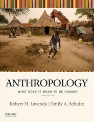 Anthropology 3rd Edition 9780190210847 0190210842