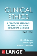 Clinical Ethics 8th Edition 9780071845069 0071845062