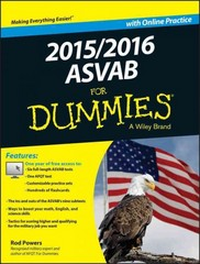 2015 / 2016 ASVAB For Dummies with Online Practice 1st Edition 9781119038382 1119038383