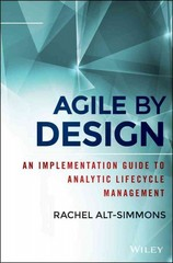 Agile by Design 1st Edition 9781118905661 1118905660