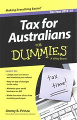 Tax for Australians for Dummies 6th Edition 9780730319573 0730319571