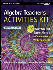 Algebra Teacher's Activities Kit 2nd Edition 9781119045601 1119045606