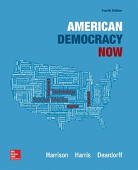 American Democracy Now 4th Edition 9780078024788 0078024781