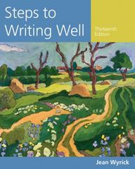 Steps to Writing Well 13th Edition 9781305394223 1305394224