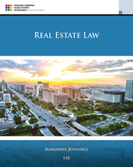 Real Estate Law 11th Edition 9781305579910 1305579917