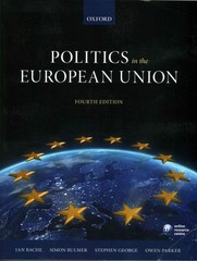 Politics in the European Union 4th Edition 9780199689668 0199689660