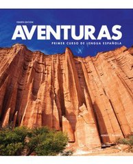 Aventuras with Supersite Plus Code (w/ WebSAM + vText + Practice App) 4th Edition 9781618576392 1618576399