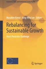 Rebalancing for Sustainable Growth 1st Edition 9784431553205 4431553207
