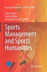 Sports Management and Sports Humanities 1st Edition 9784431553243 443155324X