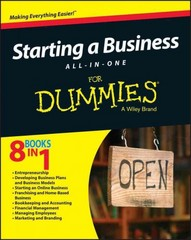 Starting a Business All-In-One For Dummies 1st Edition 9781119049104 1119049105