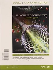 Principles of Chemistry 3rd Edition 9780133902419 0133902412