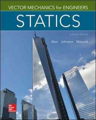 Vector Mechanics for Engineers: Statics 11th Edition 9780077687304 0077687302