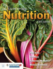 Discovering Nutrition 5th Edition 9781284065367 1284065367