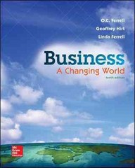 Business 10th Edition 9781259179396 1259179397