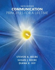 Communication 6th Edition 9780133753820 0133753824