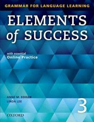 Elements of Success Student Book 3 1st Edition 9780194028264 0194028267