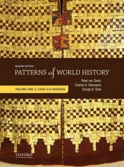 Patterns of World History: Volume One: To 1600 with Sources 2nd Edition 9780199399833 0199399832