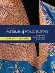 Patterns of World History: Volume Two: Since 1400 with Sources 2nd Edition 9780199399840 0199399840