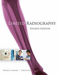 Limited Radiography 4th Edition 9781305584754 1305584759