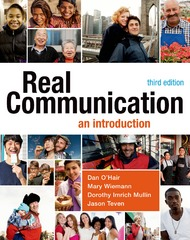 Real Communication 3rd Edition 9781457662928 1457662922
