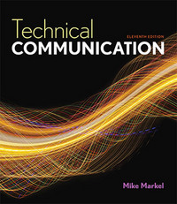Technical Communication 11th Edition 9781457673375 1457673371