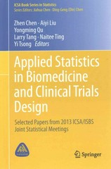 Applied Statistics in Biomedicine and Clinical Trials Design 1st Edition 9783319126937 3319126938