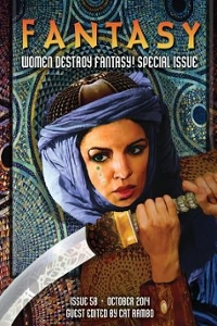 Fantasy Magazine, October 2014 (Women Destroy Fantasy! Special Issue) 1st Edition 9781501017964 1501017969