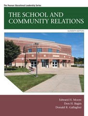 The School and Community Relations 11th Edition 9780133985979 0133985970