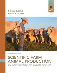 Scientific Farm Animal Production 11th Edition 9780133767209 0133767205