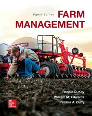 Farm Management 8th Edition 9780073400945 0073400947