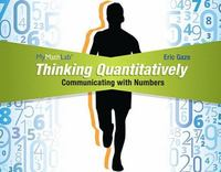 Thinking Quantitatively 1st Edition 9780321869845 0321869842