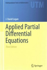Applied Partial Differential Equations 3rd Edition 9783319124926 3319124927